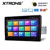 XTRONS 10,1' Touch Screen Single Din Autoradio mit...