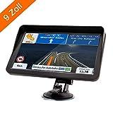 Hertekdo GPS Navi 9 Zoll Auto Navigation 8GB 256M...