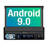 PUMPKIN Android 9.0 Autoradio 1 Din Radio mit Navi...