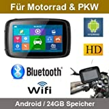 Elebest 5 Zoll Motorrad/PKW & Wohnmobil...
