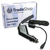 Trade-Shop Premium Micro-USB 2A KFZ-Ladekabel...