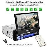 Autoradio Bluetooth, CATUO 7' HD 1080P Touchscreen...