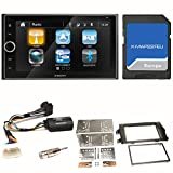 XZENT X-422 Naviceiver Navigation Bluetooth 2-DIN...