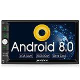 Pumpkin Android 8.0 Autoradio Radio mit Navi 4GB...