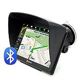 Junsun 7' GPS Navigator Navi mit Vorgeladene...