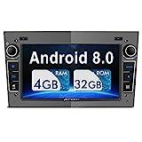 PUMPKIN Android 8.0 Autoradio Moniceiver für Opel...