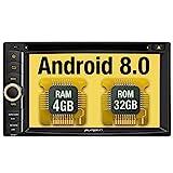 Pumpkin Android 8.0 Autoradio Moniceiver mit GPS...