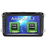 AWESAFE Android 8.1 Autoradio Doppel-DIN DVD...