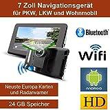 17,8cm 7 Zoll Android Navigationsgerät...
