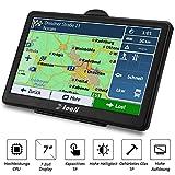 TOCLL Navigation für Auto 7 Zoll Navi LKW...