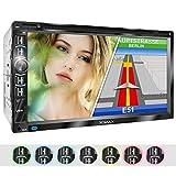 XOMAX XM-2DN6906 Autoradio mit GPS Navigation I...