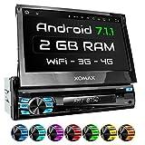 XOMAX XM-DA708 Autoradio mit Android 7.1.1, 2GB...