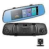 7,84' HD Dual Lens Rückspiegel Auto DVR WiFi 4G...