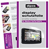 dipos I 2X Schutzfolie klar passend für Medion...