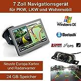 Elebest 7 Zoll,Windows CE Navigationsgerät, mit...