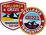 2er-Set, Stick Abzeichen Mallorca GR221...