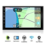 YUNTX Android 9.0 Doppel Din Autoradio mit navi -...