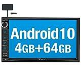 Vanku Android 10 Autoradio Radio mit Navi 4GB+...