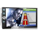 XOMAX XM-2VN768 Autoradio mit Mirrorlink, GPS...