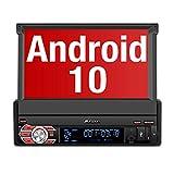 PUMPKIN Android 10 Autoradio 1 Din Radio mit Navi...
