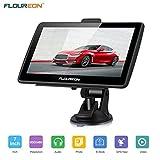 FLOUREON Navigationsgerät LCD Touchscreen GPS...