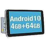 Vanku Android 10 Autoradio mit Navi 64GB+4GB 10...
