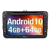 Vanku Android 10 Autoradio für Golf 5 6 Touran...