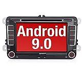 PUMPKIN Android 9.0 Autoradio für VW Radio mit...