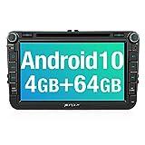 PUMPKIN Android 10 Autoradio für VW Radio mit...