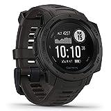 Garmin Instinct - wasserdichte GPS-Smartwatch mit...