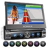 XOMAX XM-DN763 Autoradio mit Mirrorlink, GPS...