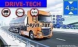 7 Zoll GPS Navi Navigationsgerät Navigationsystem...