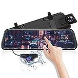 AZDOME 10' Spiegel Dashcam mit Rückfahrkamera,...