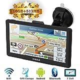 Hieha 7' Zoll LKW PKW GPS Navigationsgerät Navi...