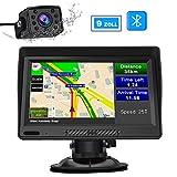 AWESAFE LKW Navi 9 Zoll Navigation mit Bluetooth...