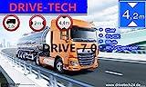 7' Zoll 12V/24V/40V NEU EUROPA LKW TRUCK BUS TAXI...