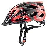 Uvex Fahrradhelm i-vo cc, red-darksilver-Black...