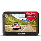 Navigation für Auto, Aonerex 5 Zoll Touchscreen...