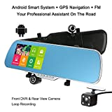 KKmoon 5 Zoll Android Smart-System GPS Navigation...