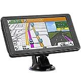 Hieha Navigation GPS Navi 7 Zoll Sprachführung...
