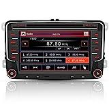 AWESAFE Radio mit Navi für VW Golf Skoda Seat, 2...