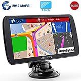 Jimwey GPS Navi Navigation für Auto LKW PKW 9...