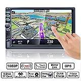 Autoradio GPS Navigation, HALUM Wince 7'' 1080P...