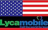 Prepaid Sim-Karte USA - 5GB 4G LTE - Unbegrenzte...