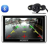 Xgody 826BT Car GPS Navigation with 6 Meters...