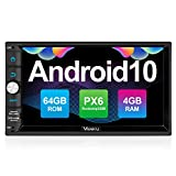 Vanku Android 10 Autoradio mit Navi PX6 System...
