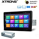 XTRONS 10,1' Touch Screen Single Din Autoradio mit...