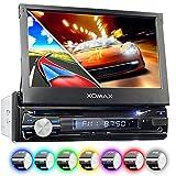 XOMAX XM-DTSBN933 Autoradio mit GPS Navigation I...