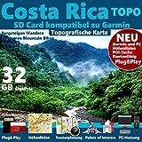 Costa Rica Garmin Karte OutdoorTopo GPS Karte...
