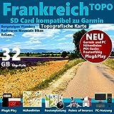 ★ Frankreich France Topo GPS Karte GB microSD...